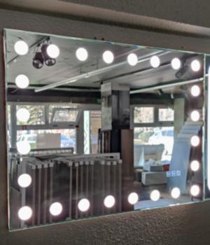Зеркало LED Hollywood 800x600mm 3 цвета