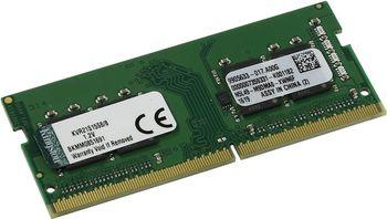 8Gb DDR4-2133 PC17000 CL15 1.2V SODIMM Kingston ValueRam