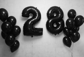 купить Набор шаров «Я люблю черный» в Кишинёве