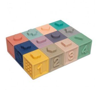 купить Мягкие развивающие кубики Canpol Babies (12 шт) в Кишинёве