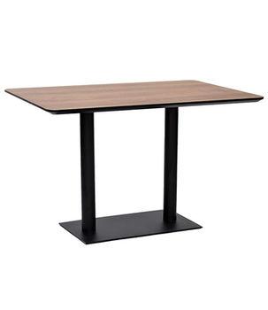 купить Стол из ДСП с ножками из металла, черное покрытие, 1200x800x750 мм в Кишинёве