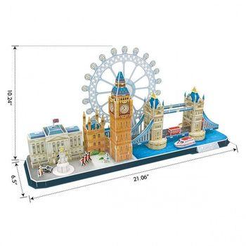 купить CubicFun пазл 3D City City Line London в Кишинёве