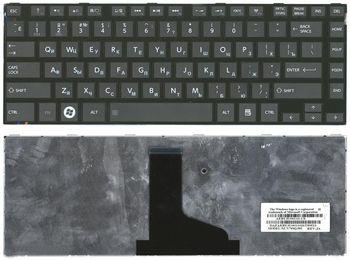 Keyboard Toshiba Satellite C845 C805 C830 C835 C840 L805 L830 L835 L840 L845 P840 P845 Portege M805 ENG/RU Black