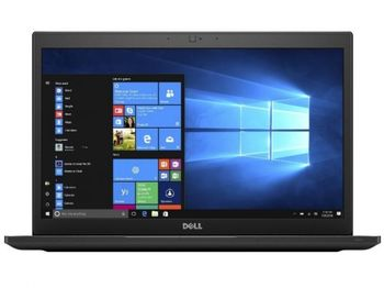 DELL Latitude 7490 Black, 14.0'' FHD Anti-Glare +W10 Pro (Intel® Core™ i7-8650U up to 4.2GHz, 8GB DDR4 RAM, 256GB SSD, Intel® UHD620 Graphics, CR, WiFi-AC/BT4.2, HDMI, USB-C, TB3, Backlit KB, 4cell, HD Webcam, FingerPrint,  Win 10 Pro, 1.4kg)