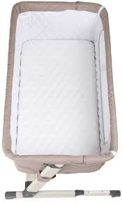 купить Co-sleeper 2 в 1 BabyGO Together Beige в Кишинёве
