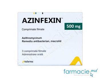 купить Azinfexin™ comp. film. 500 mg  N3 в Кишинёве