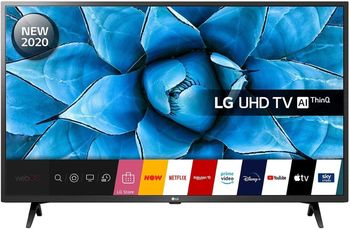 "50"" LED TV LG 50UN73506LB, Black"