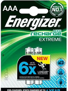 Energizer Rechargeable Extreme  AAA/HR03 800mAh, FSB2 (blister)