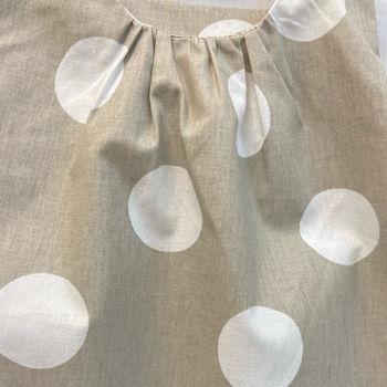 Платье R08 серое в горошек