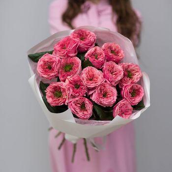 Buchet de Trandafiri ca bujori 15 buc.