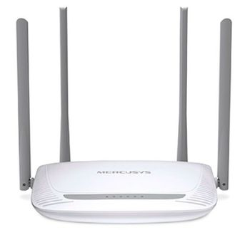 MERCUSYS MW325R  N300 Wireless Router, 300Mbps on 2.4GHz, 802.11n/b/g, 1 WAN + 4 LAN, 4 fixed antennas (provide up to 500m2 of wireless coverage)