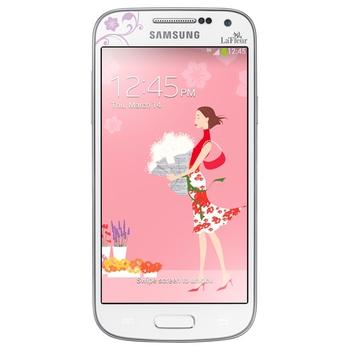 Samsung I9192 Galaxy S4 mini 2 SIM (DUOS) 8GB White La Fleur