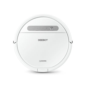 ECOVACS Robot Vacuum Cleaning OZMO 610, Mopping with OZMO System, Smart Cleaning Path with less missing, App Control, Self Charging, 3-stage cleaning system for effortless cleanliness, Working Time: 2h, Anti-Drop, Anti-Block, Anti-Collision