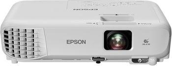 купить WXGA LCD Projector Epson EB-W05, 3300Lum, 15000:1, WXGA (1200х800), 1.2x Zoom. Технология: LCD: 3×0.59″ P-Si TFT;  Разрешение: WXGA (1280×800);  Яркость: 3300 ANSI lm;  Цветовая яркость: 3300 ANSI lm;  Контрастность: 15000:1;  Зум 1,2х (оптический);  Передача изображения по беспроводной сети Wi-fi (опционально);  Автоматическая коррекция вертикальных трапецеидальных искажений;  Быстрая коррекция горизонтальных трапецеидальных искажений ручкой-слайдером;  Функция Quick Corner;  Возможность просмотра изображений напрямую с USB носителей;  Функция копирования настроек и обновления прошивки через USB;  USB Display 3-в-1 — передача изображения, звука и сигналов управления по USB кабелю;  Функция Split Screen;  Прямое подключение к документ-камере Epson ELPDC07;  Встроенный динамик 2 Вт;  Фронтальный вывод тепла;  Моментальное выключение;  Вес: 2,5 кг.   Состав поставки:  •Проектор;  •Кабель питания 1,8 м;  •Кабель для подключения к ПК с 15-контактным разъемом D-Sub (n/n) 1,8м;  •Пульт ДУ;  •Руководство пользователя. в Кишинёве