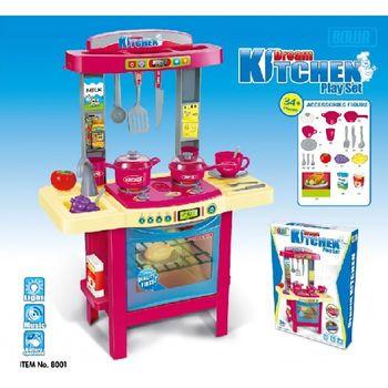 купить Essa Toys Набор кухня 34 дет в Кишинёве