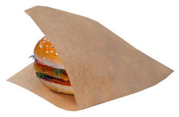 Бумажные пакет  16*15 см