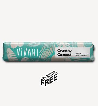 Батончик шоколадный Vivani с кокосом 35g