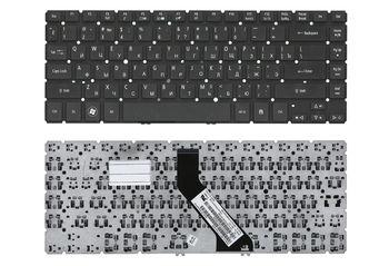 Keyboard Acer Aspire V5-431 V5-471 M5-481 w/o frame ENG/RU Black