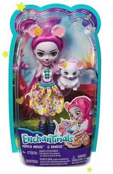 """Кукла Enchantimals """"Майля и её друг Фондю"""", код FXM76"""