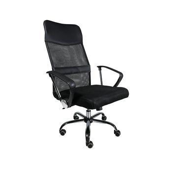 Офисное кресло HT 914 черное сетчатое