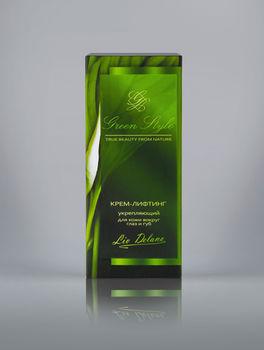 купить Крем-лифтинг укрепляющий для кожи вокруг глаз и губ Green style в Кишинёве
