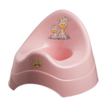 """Музыкальный горшок """"Giraffe"""", розовый, код 41092"""