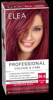 Краска для волос,SOLVEX Elea, 138 мл., 66.6 - Насыщенный красный