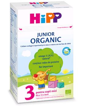 купить Hipp 3 Organic Junior молочная смесь, 12+мес. 500 г в Кишинёве