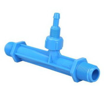 """купить Инжектор 1/2"""" Venturi Расход:0.29-0.81m3/h, 0.7-9.5bar, МощВсас 3-37L/h UNITAPE (синий) в Кишинёве"""