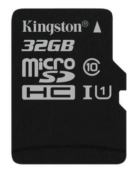 Kingston 32GB microSDHC Class10 UHS-I, 300x, Up to: 45MB/s