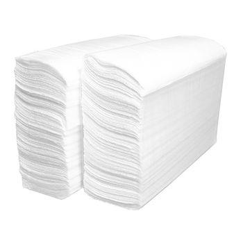 Бумажные полотенца Z укл. белые 1 слой 250 листов