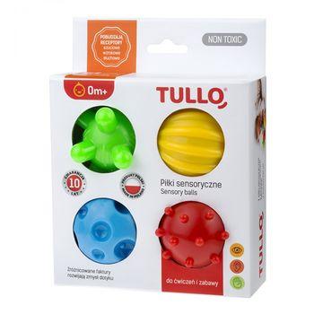 купить Сенсорные игрушки TULLO 4 шт в Кишинёве