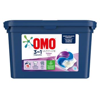 купить Omo Ultimate Trio Capsule Color 15, шт. в Кишинёве
