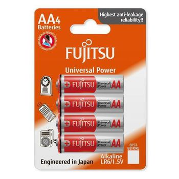 Fujitsu baterii Alkaline  AA  FSB4