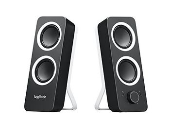 Logitech Z200 Speakers 2.0 ( RMS 5W, 2x2.5W), Stereo headphone jack, Black
