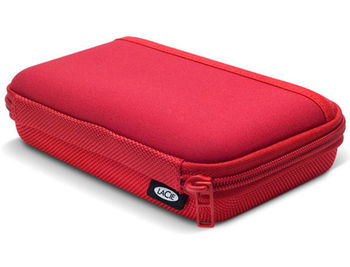 "LaCie Cozy 3.5"" red, Design by Sam Hecht, Solid protection, 130905 (Husa pentru HDD/чехол для HDD)"