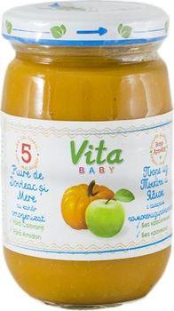 купить Vita Baby пюре яблоко и тыква, 5+мес. 180г в Кишинёве