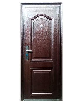 Дверь металлическая TPC 300K 860x1900x70 мм коричневая