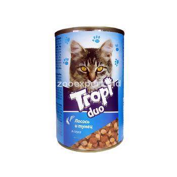 cumpără Tropi Duo în sos de somon și ton 415 gr în Chișinău