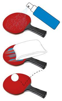 Очиститель ракеток 100 мл Donic Rubber Cleaner VOC-free 828524 (3899)
