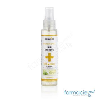 cumpără Dezinfectant SANWISE Spray Intensiv p/u miini 100ml (alcool 80%) Viorica în Chișinău
