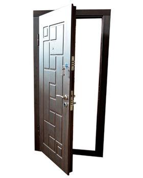 Дверь металлическая Diplomat DT-6 860x2050x70 мм венге