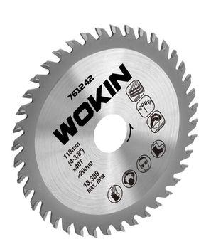 """купить Отрезной диск по дереву 185MM(7-1/4"""")*24T*30MM Wokin в Кишинёве"""