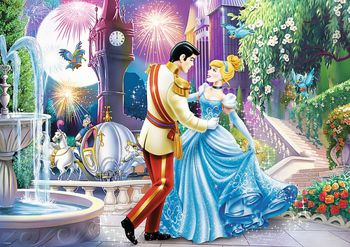 "13224 Trefl Puzzles-""200"" - Dance in the moonlight / Disney Princess"
