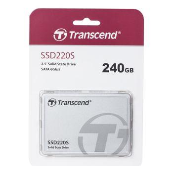 """2.5"""" SATA SSD  240GB  Transcend """"SSD220"""""""