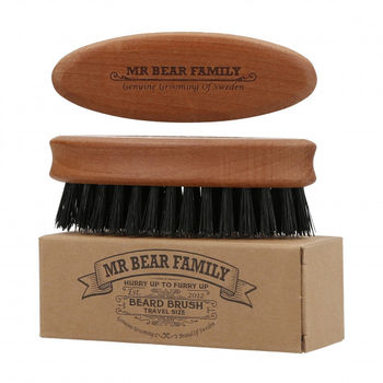 BEARD BRUSH TRAVEL