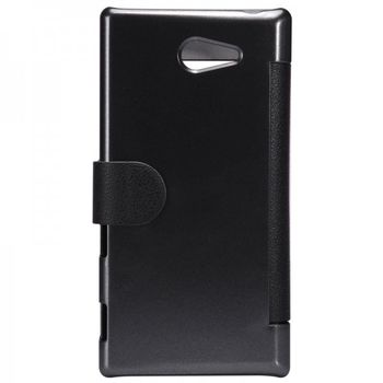 "Чехол для Sony Xperia M2 ""Nillkin Fresh Leather Case"" Черный"
