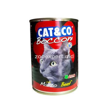cumpără Cat & Co bucăți de vita 405 gr în Chișinău