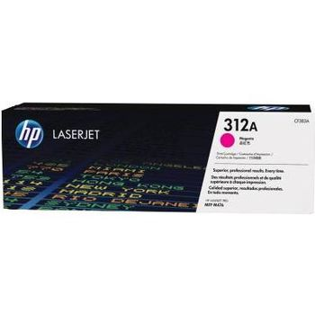 HP 312A (CF383A) Magenta Original LaserJet Toner Cartridge (up to 2700 pages), for  HP LaserJet Pro M476 Series
