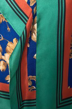 Блуза ZARA Синий с принтом 8519/162/330